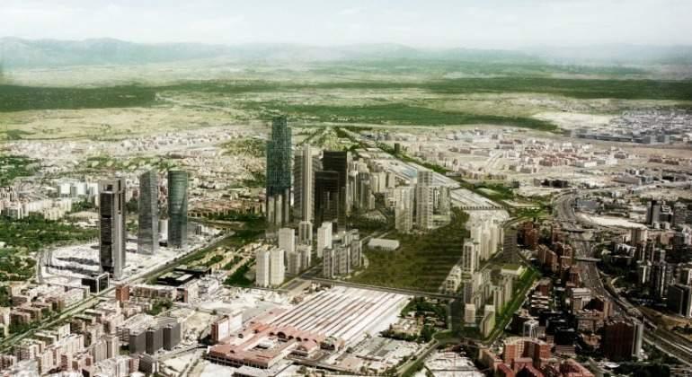 Operación Chamartín creará 214.000 empleos y supondrá un 3% del PIB de Madrid