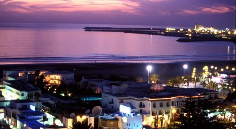 Bahía de Agadir, Marruecos.