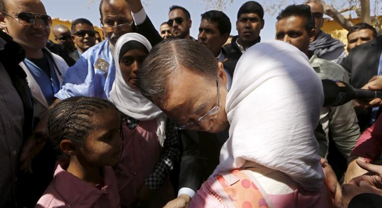 NACIONES UNIDAS: El Consejo de Seguridad de la ONU ampl�a un a�o m�s la MINURSO en el S�hara