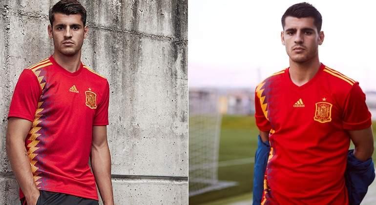 a35720c38a880 Adidas y la RFEF confirman que España lucirá la camiseta  republicana  en  el Mundial de Rusia 2018