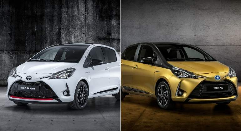 toyota yaris gr sport y yaris y20 una versi n deportiva y otra para rendir homenaje al modelo. Black Bedroom Furniture Sets. Home Design Ideas