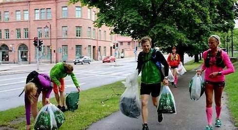 Plogging: el deporte de recoger basura