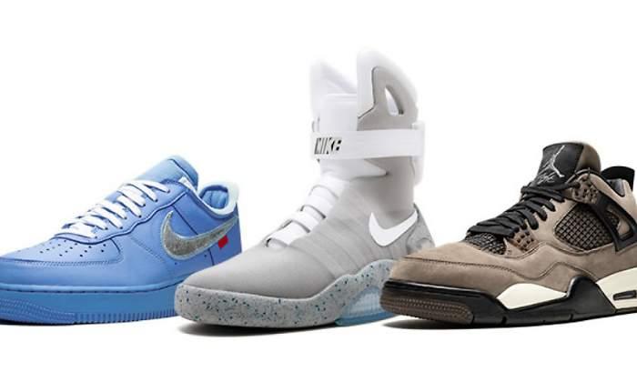 venta minorista 17b22 2bffa Las zapatillas pasan de moda a coleccionismo: Sotheby's ...