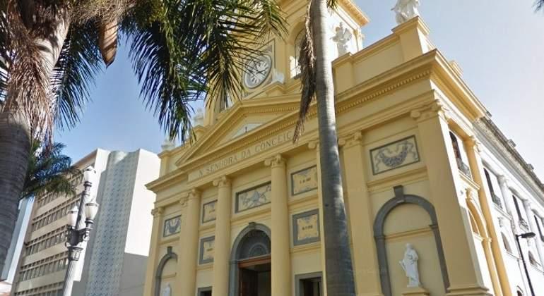 d66e9d9d5 Mueren cuatro personas tras ser tiroteadas en el interior de una catedral  en Brasil