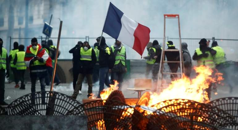 París, una ciudad en estado de excepción ante el movimiento de los chalecos amarillos