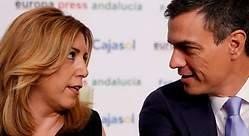 Susana Díaz reitera su apoyo a Sánchez y su dirección