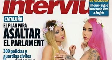 Laura y Andrea, de Quién quiere casarse con mi hijo, desnudas en la revista Interviú