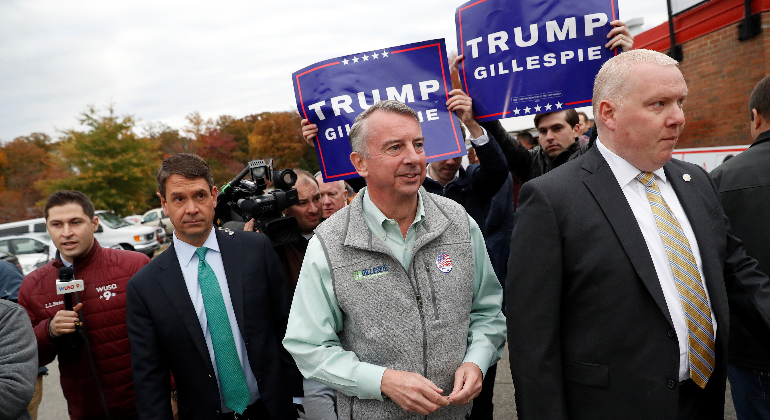 Demócratas ganan a candidatos de Trump en Virginia y Nueva Jersey