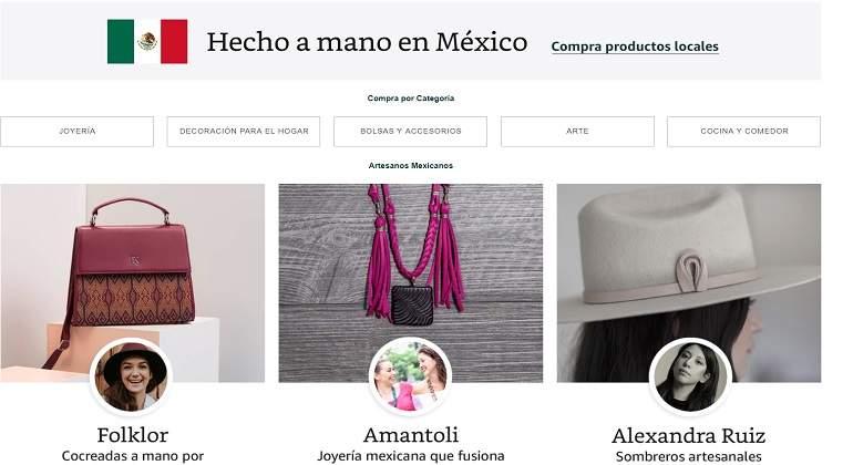 Artesanos mexicanos podrán vender sus productos en Amazon - economiahoy.mx 25908bb26b2