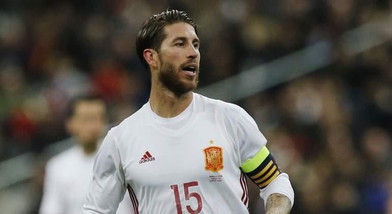 Sergio Ramos lucirá el 155 contra el Barça