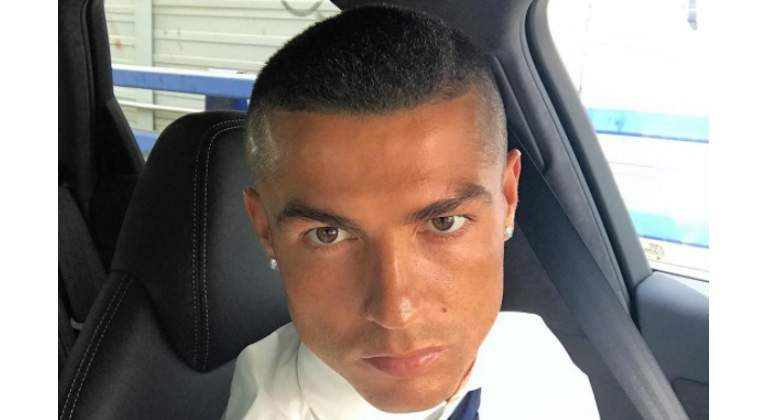 Resultado de imagen para nuevo look de cristiano ronaldo