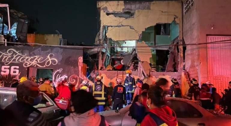 Explosión en vecindad de la colonia Morelos deja al menos dos muertos - economiahoy.mx