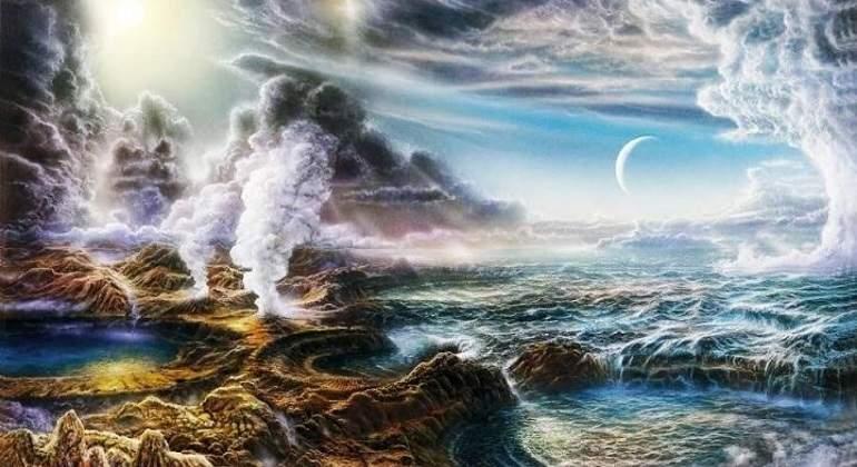 Resultado de imagen de La Tierra primigenia
