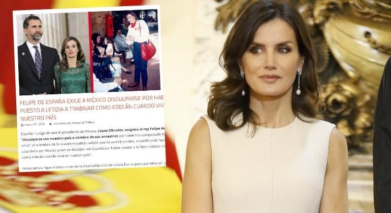 Un Medio Mexicano Se Ríe Del Pasado De Letizia Como Cigarrera En