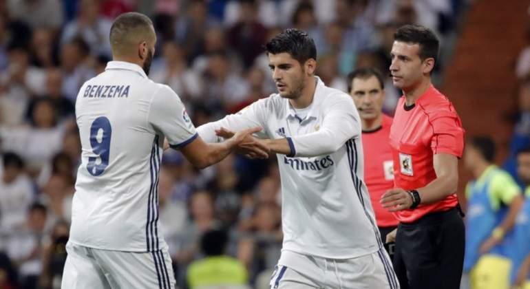 El descontento con Benzema y Morata puede provocar una revolución en la  delantera del Real Madrid af7d9cf12c500