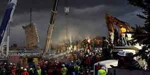 Vivir con miedo al derrumbe: 48 horas de terror en México