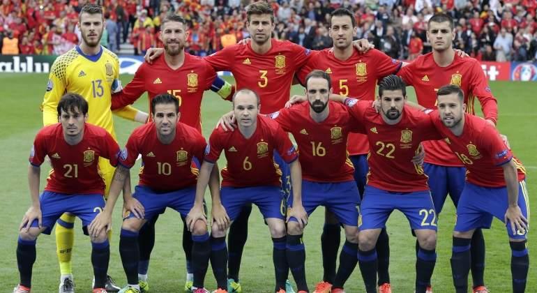 Futbol - Eurocopa 2016. Francia - España vs. República Checa ... 7eb0fc7851a10