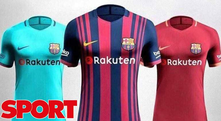El Barcelona revoluciona su camiseta y vestirá de rojo la próxima ... 3451f91d493