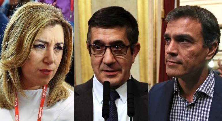 Resultado de imagen de Sánchez gana en avales a Díaz en 11 de las 17 federaciones socialistas