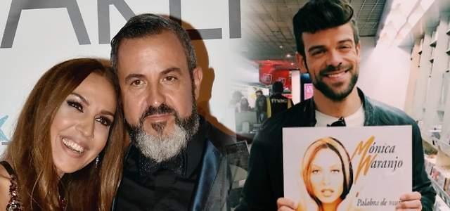 El marido de Mónica Naranjo se enzarza con Ricky en Twitter