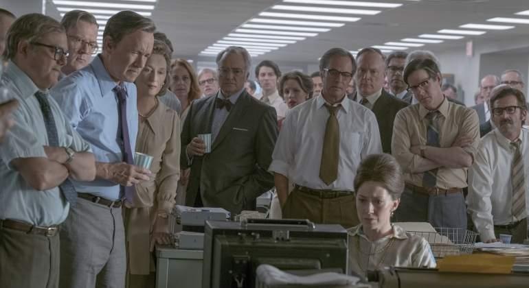 Steven Spielberg presenta Los archivos del Pentágono