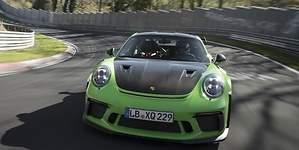 El Porsche 911 GT3 RS vuela en Nürburgring Nordschleife: así fue su vuelta desde dentro