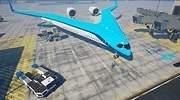 Aviones en forma de V, la nueva configuración aeronáutica para hacer la aviación más sostenible