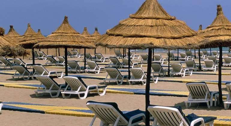 Playa de Saidia, Marruecos.
