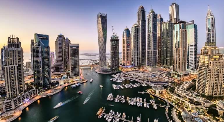 dubi trabaja en la construccin del primer rascacielos giratorio del mundo