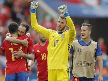 Dos pesos pesados del vestuario de la Selección abroncaron a De Gea