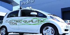 Indra inició primeras las pruebas del vehículo autónomo