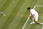 La lluvia salva a Djokovic ante Querrey