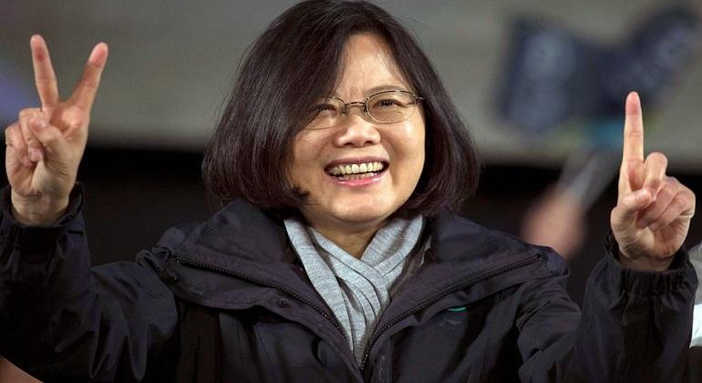 La presidenta de Taiwán asistirá a la inauguración del canal de Panamá
