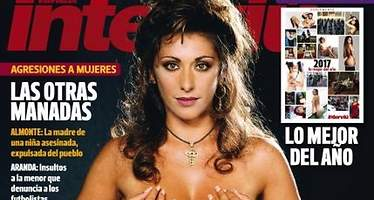 Sabrina, desnuda en Interviú 30 años después del escándalo de su pezón en TVE