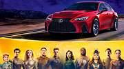 El nuevo Lexus NX se une al universo de los superhéroes de Marvel en el estreno de Eternals