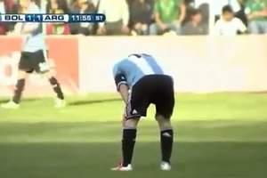 Messi desvela el motivo de sus vómitos
