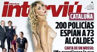 La sobrina de José María Aznar, desnuda en Interviú