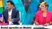 ¿Perdón? ¿Cómo?: la cara de sorpresa de Iñaki López y Cristina Pardo al escuchar que no hubo agresión en Malasaña