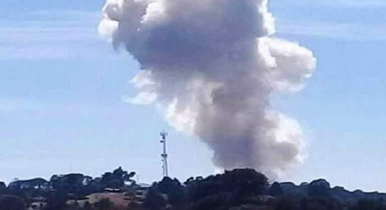 Explosión de polvorines en Jilotepec deja 4 muertos