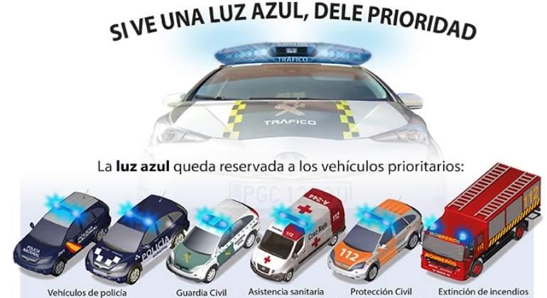 Policía-bomberos-RTW-luz azul vehículos etc bd2684 gangas prestigio!!