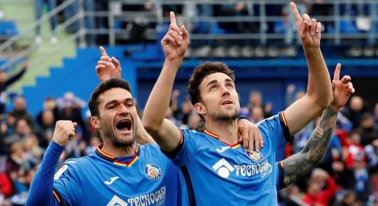 El Getafe golea al Sevilla y vuelve a los puestos de Champions