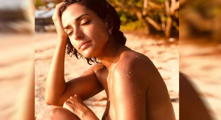 Inma Cuesta Celebra Los 39 Años Con Un Desnudo Libre Y Salvaje