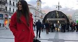 El abrigo de Cristina Pedroche que tú también quieres: calentito y de piel falsa