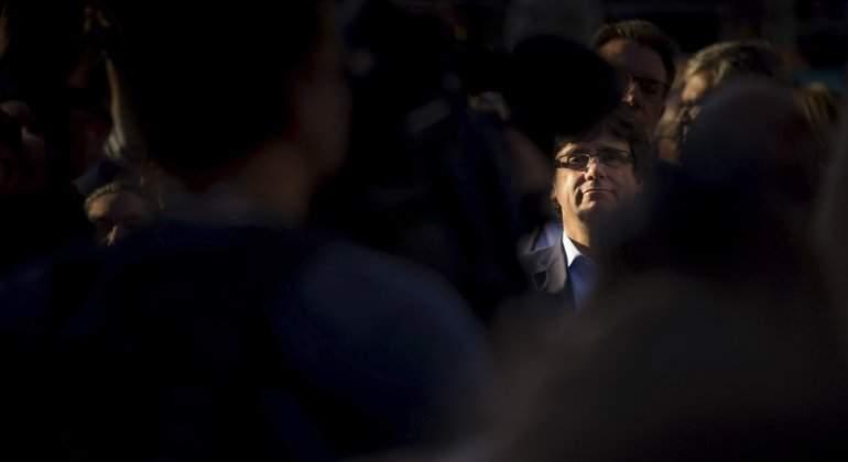 Puigdemont, entre la DUI y las elecciones