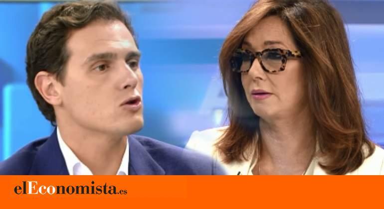 Ana Rosa Quintana Pregunta A Albert Rivera Por Las Fotos Con Malú Que Hizo Su Reportera Ecoteuve Es