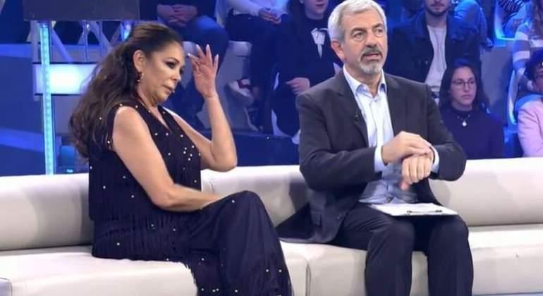 ¿Por qué Isabel Pantoja y Carlos Sobera hacen buena pareja (televisiva)?