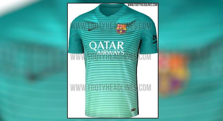 Desvelan cómo será la tercera equipación del Barça para la temporada ... 0ea3ab87a1fef
