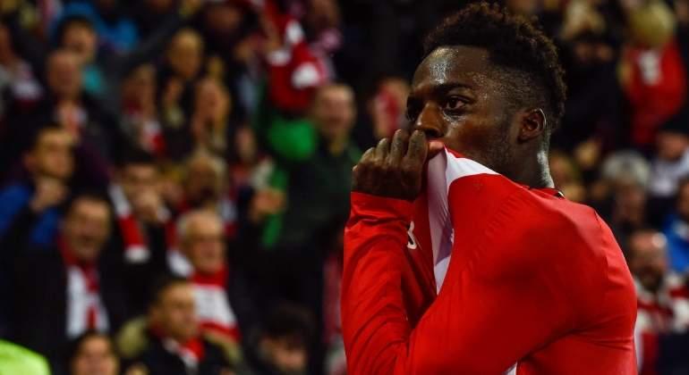 Iñaki Williams tumba al Sevilla con dos golazos y da respiro a un Athletic que va a más