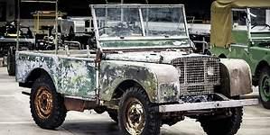 Land Rover encuentra el primer coche de su historia: tras desaparecer 63 años, restaurado