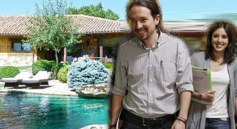 El chalet marca la línea roja de la 'humildad' que divide Podemos